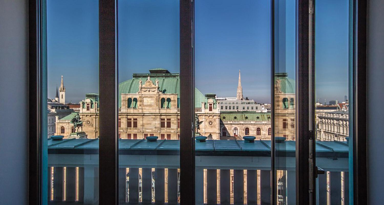 Oper Buero Aussicht Balkon